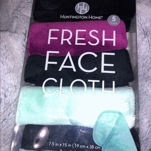Reusable Cloth Makeup Wipes (5 Pack)
